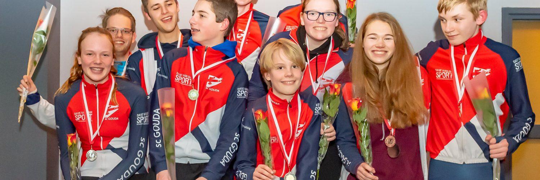 Prijswinnaars clubkampioenschappen SC Gouda
