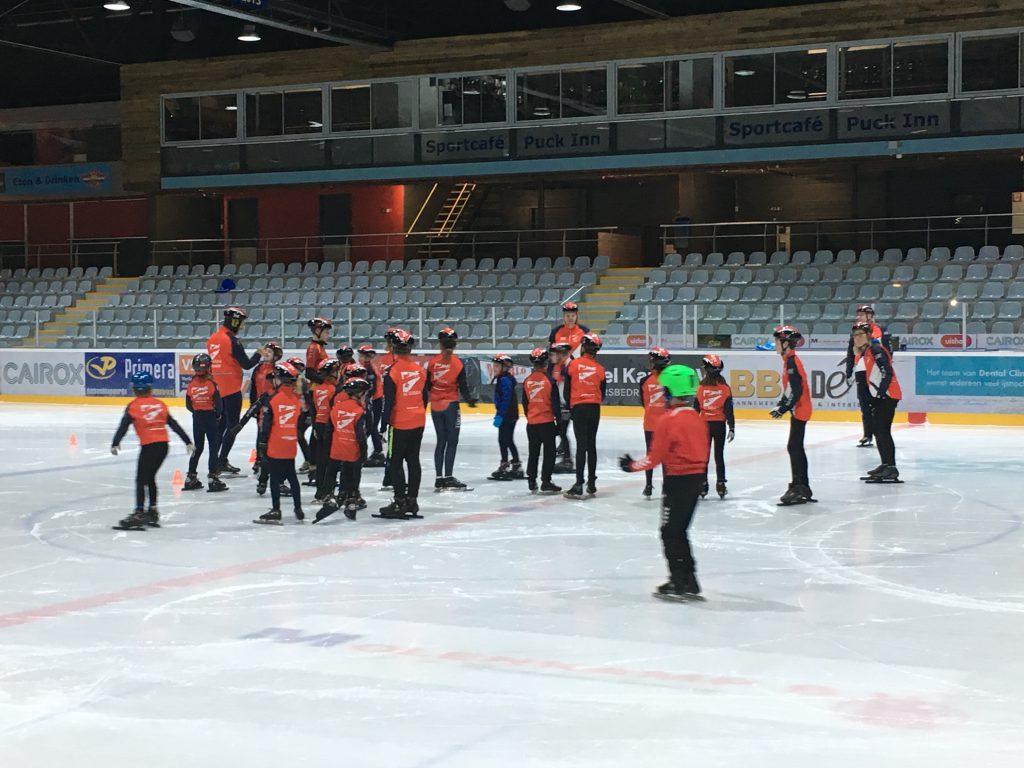 Jeugdschaatsen Uithof Den Haag SC Gouda