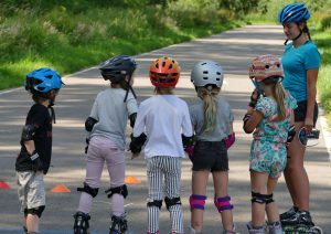 Skeeleren voor de allerkleinsten, kinderen skaten