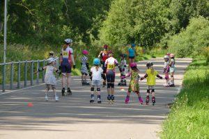 Skeelerclinics, skate clinics, Brede school, SC Gouda